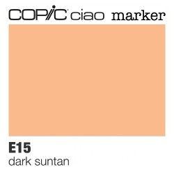 "Pennarello Copic ""Ciao Marker"" (E15) Dark Suntan"
