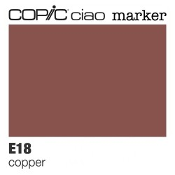 "Pennarello Copic ""Ciao Marker"" (E18) Copper"