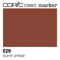 "Pennarello Copic ""Ciao Marker"" (E29) Burnt Umber"