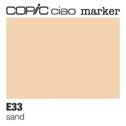 "Pennarello Copic ""Ciao Marker"" (E33) Sand"