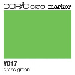 Bellearti-it-Pennarello-Copic-Ciao-Marker-cod-YG17-Grass-Green