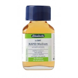 Rapid Medium Schmincke (041), flacone in vetro da 60 ml