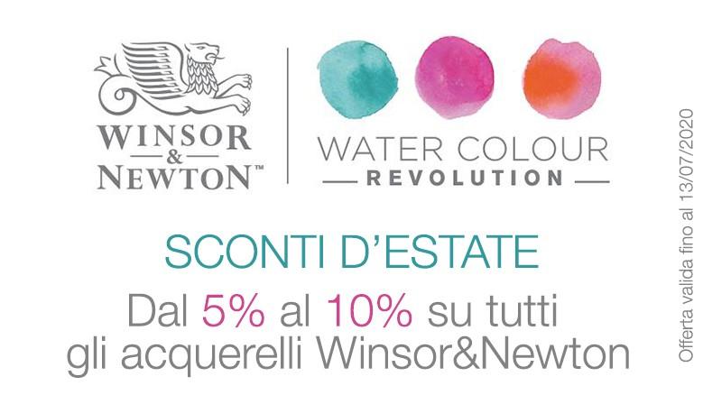 Offerta acquerelli Winsor&Newton